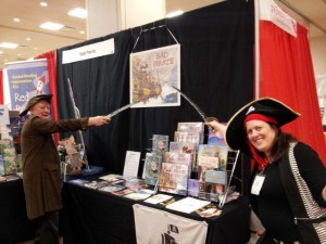 Pirate author signing
