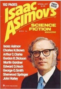 head shot of isaac Asimov