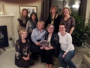 Sharon's book club Toronto