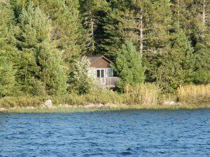 Quetico cabin