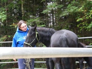 Heather and a pony